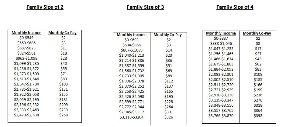 Family Income Charts